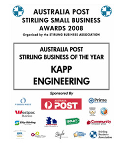 Awards we have won   Kapp Engineering